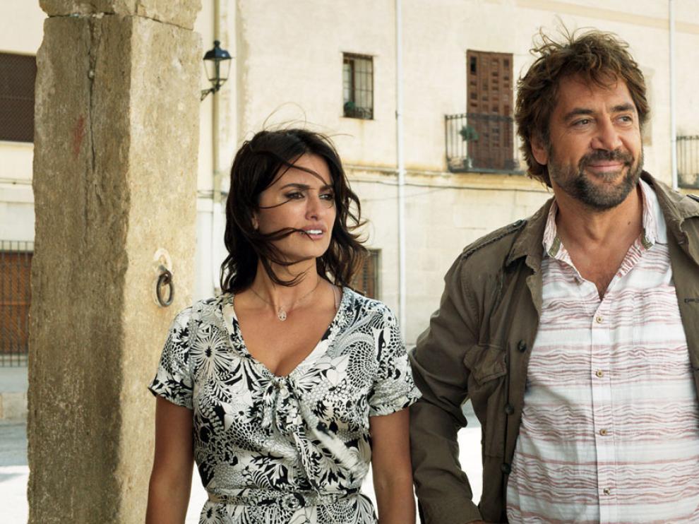 Penélope Cruz y Javier Bardem, en la película.