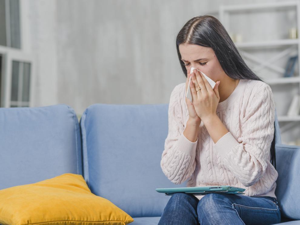 Las alergias suelen ir acompañadas de mucosidad y congestión nasal