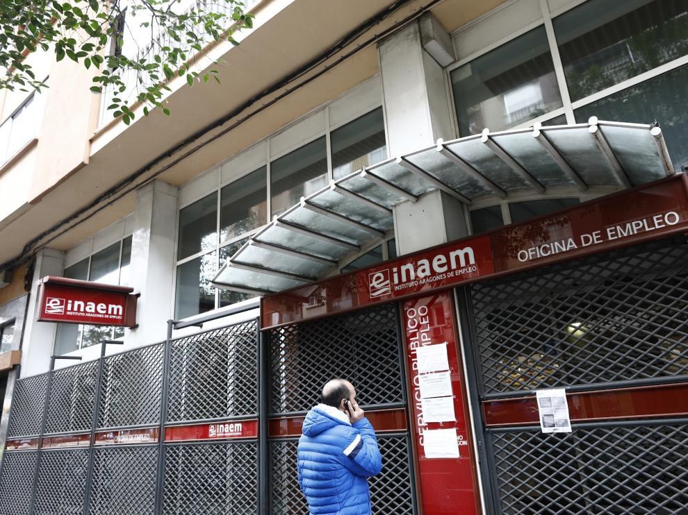 Oficinas del Inaem en Zaragoza