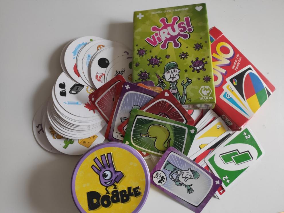 Dobble, Uno o Virus son los juegos de cartas de mayor tirón en la actualidad.