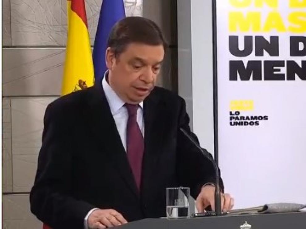 ministro de Agricultura, Pesca y Alimentación, Luis Planas.