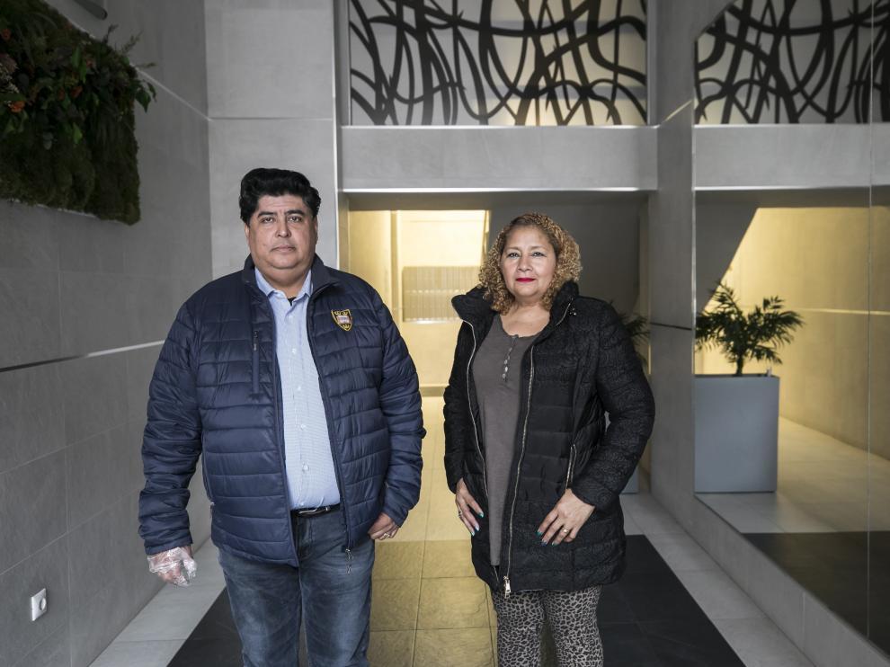 Raúl Restrepo y su esposa, Ellis Barrera, dependen de los ingresos del rastro.