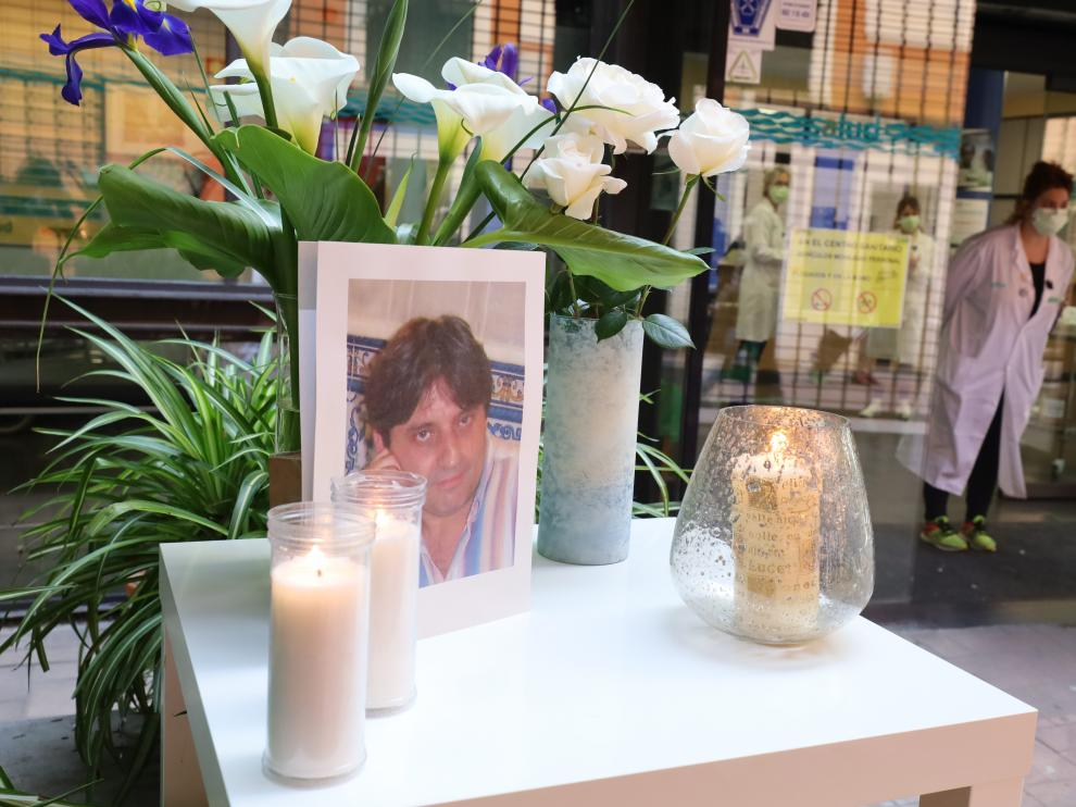 Homenaje a José Luis San Martín el 13 de abril en el centro de salud de San Pablo.