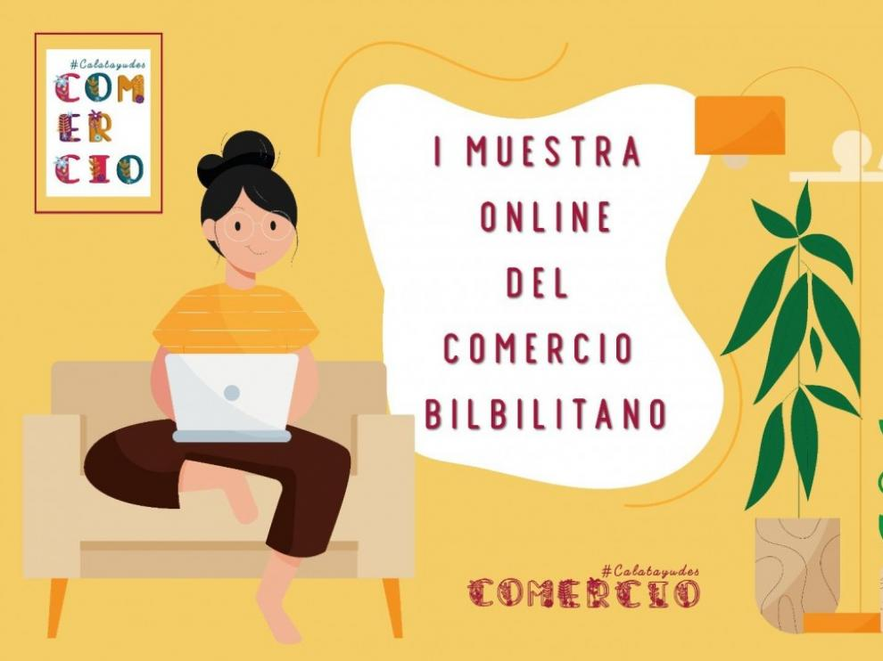 La I Muestra Online del comercio bilbilitano será un escaparate virtual.