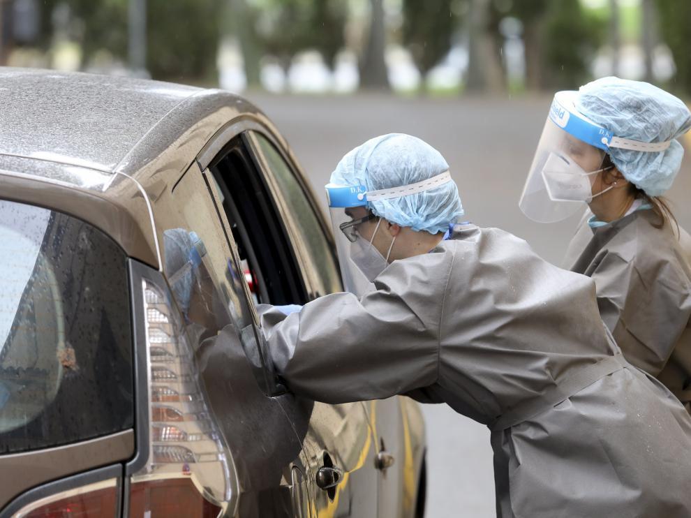 Sanidad está realizando esta semana test rápidos en diversos municipios de la provincia.