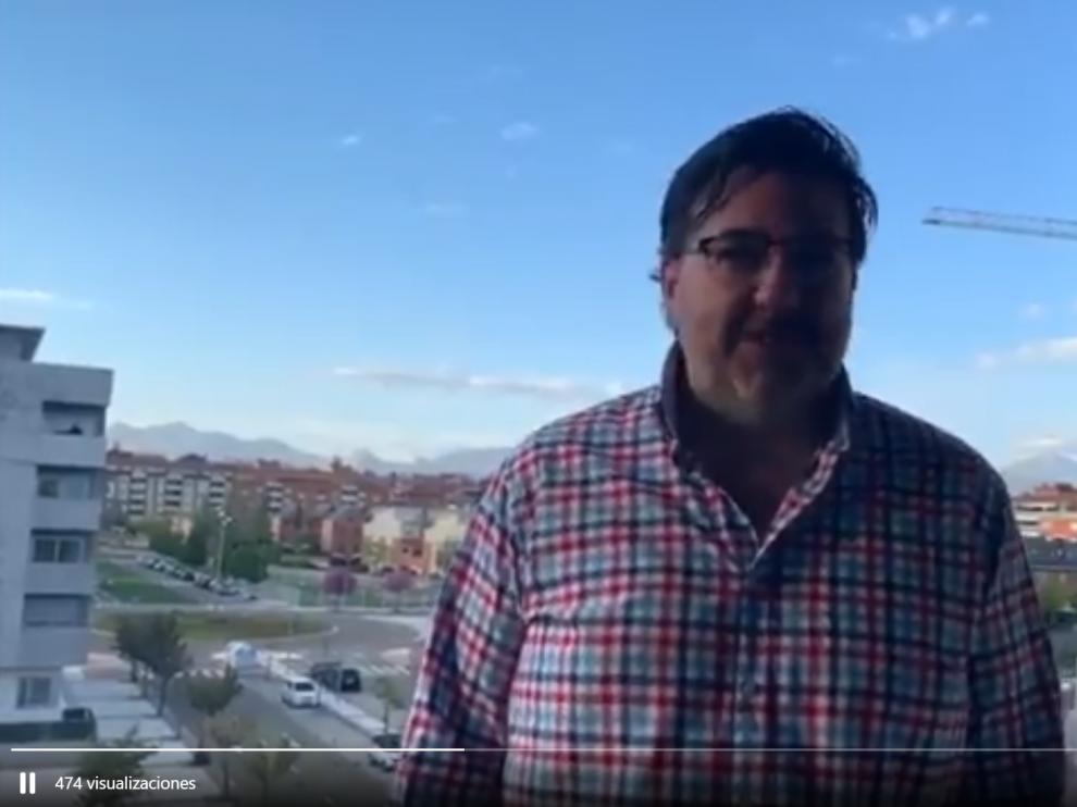 El consejero delegado, Manolo Torres, en una imagen del vídeo.