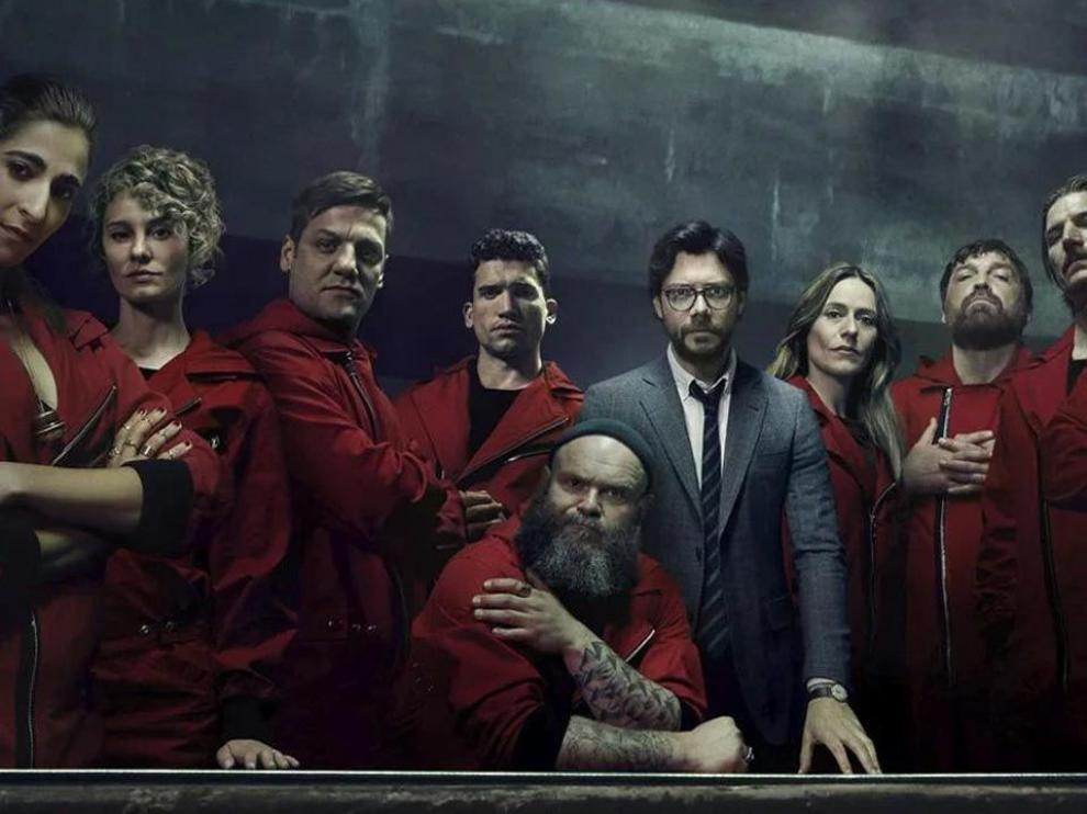 'La casa de papel', un éxito internacional disponible en la plataforma Netflix