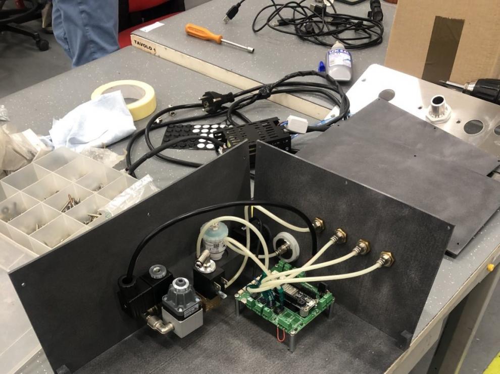 Respirador creado por el equipo de investigación.