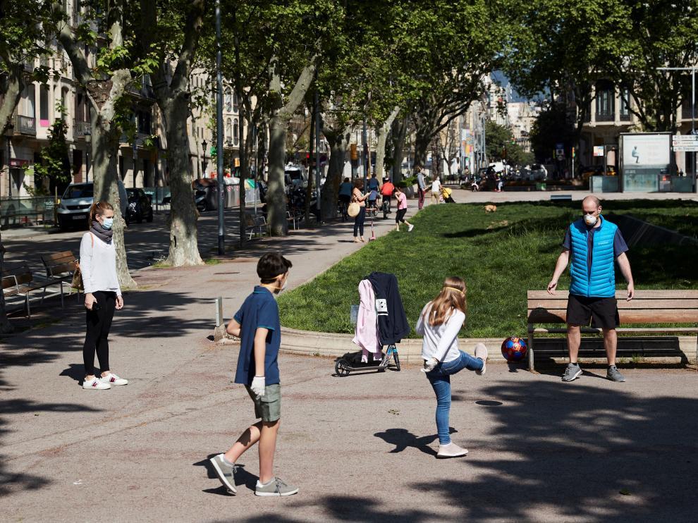 Los niños pueden salir a la calle a pasear