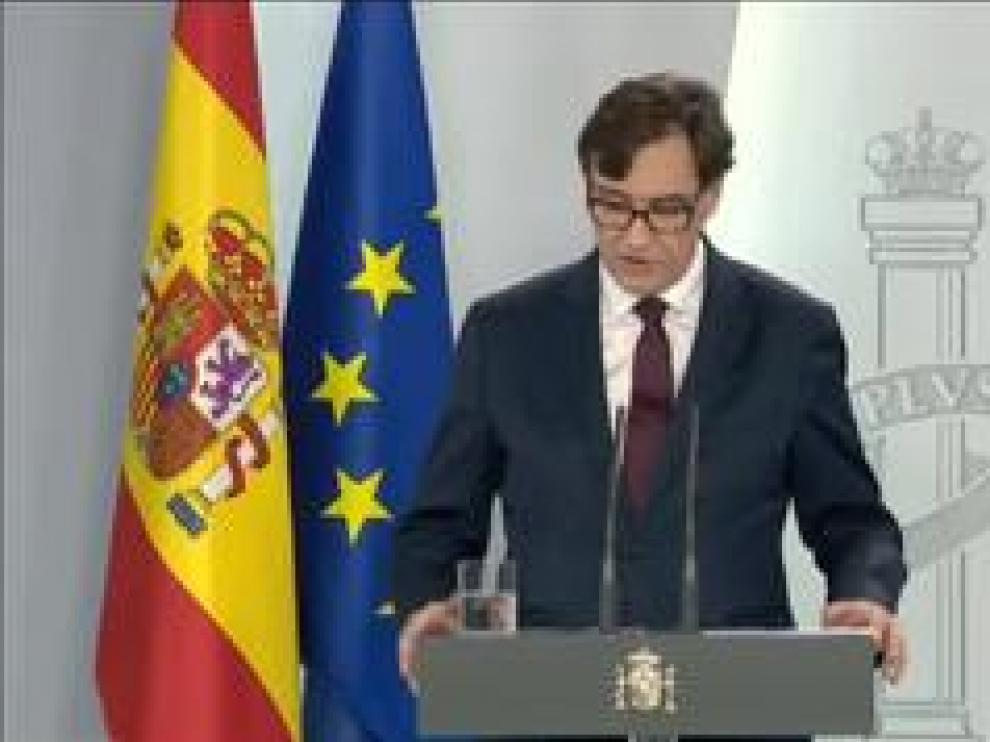 """El ministro de Sanidad llama la atención al 1% de españoles que ha cometido """"excesos"""" o que no han seguido las pautas"""