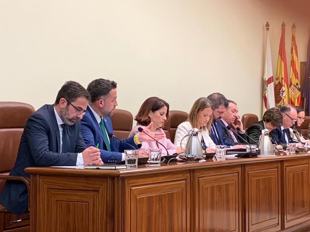 Grupo del PP en la Diputación Provincial de Teruel.