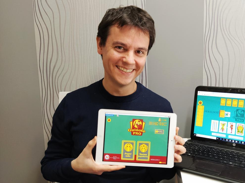 Iván López es el creador de GuiñotePro, una aplicación que ha aumentado el número de usuarios en estos días.
