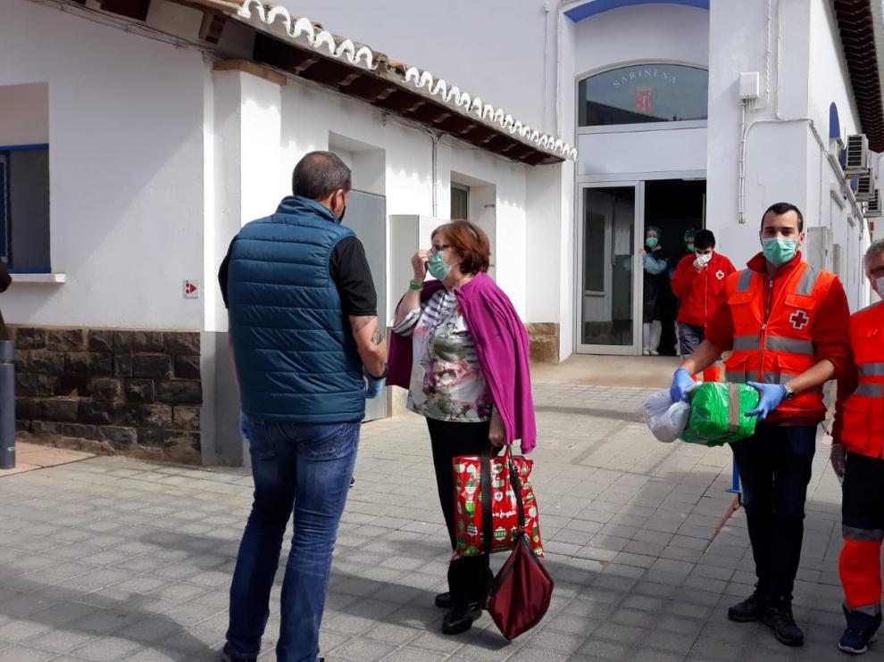 Lidia Lapiedra fue la última interna en recibir el alta procedente de Yéqueda y regresar a Sariñena.