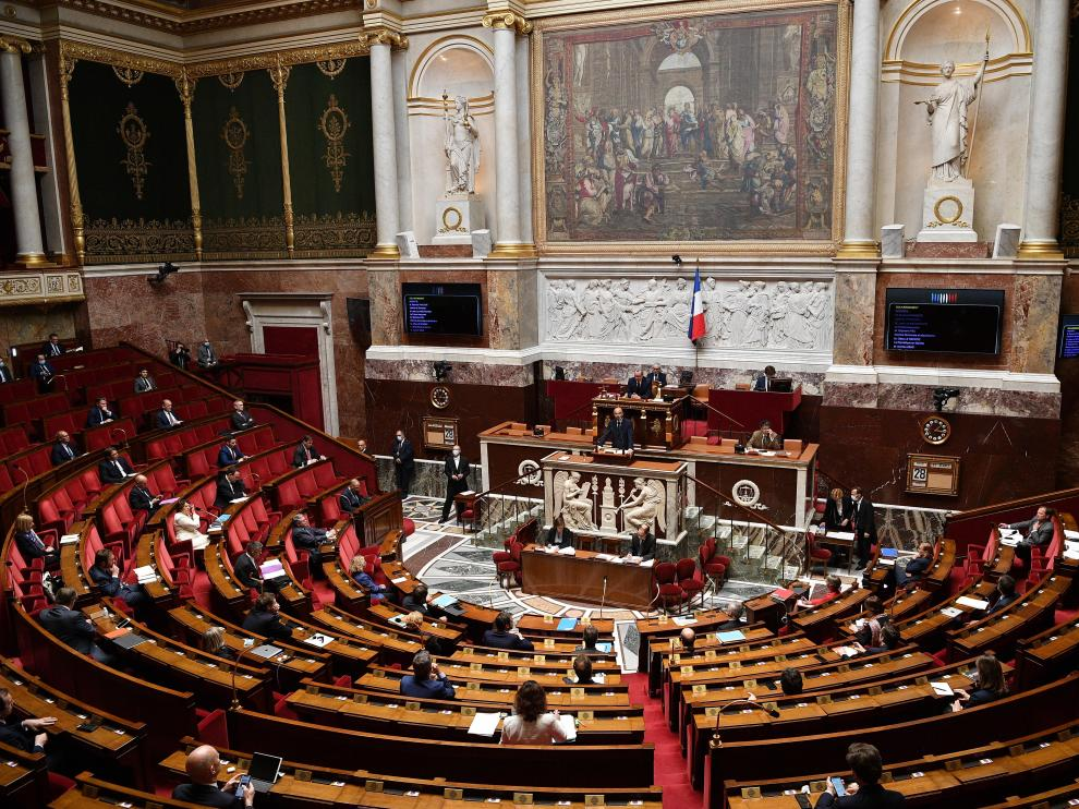 French PM Philippe Makes A Statement At National Assembly