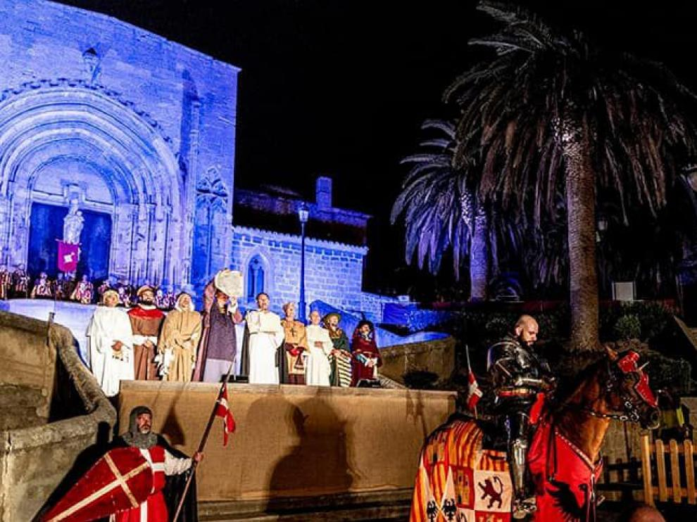 La conmemoración del Compromiso de Caspe estaba prevista para el 26,27 y 28 de junio. Ayuntamiento Caspe