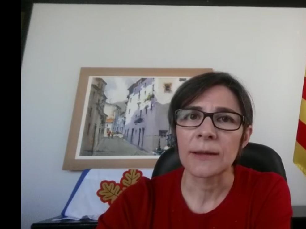 Marta Azagra es la alcaldesa de Vera de Moncayo.