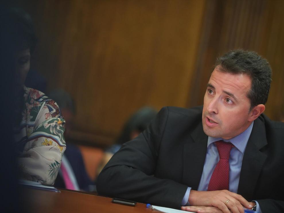 El diputado del PP por Teruel, Alberto Herrero.