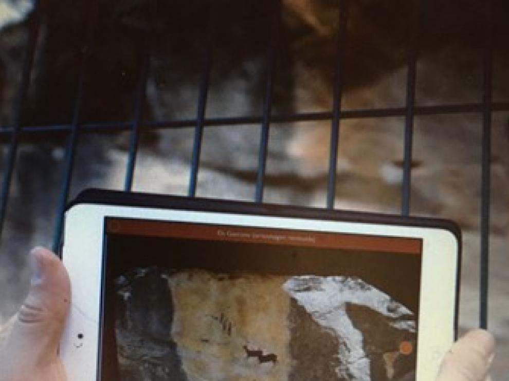 Matarraña Rock Art está disponible para móviles, tablets y también ordenador.