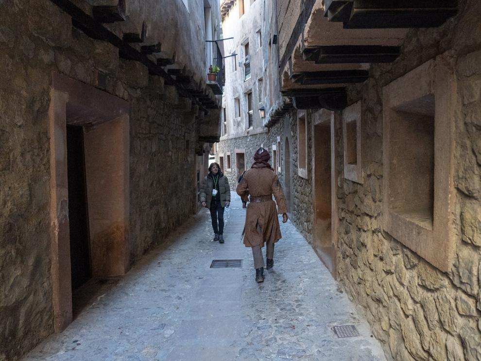 Rodaje de la serie El CID de amazon Prime video en Albarracin. Foto Antonio Garcia/bykofoto. 20/11/19 [[[FOTOGRAFOS]]] [[[HA ARCHIVO]]]