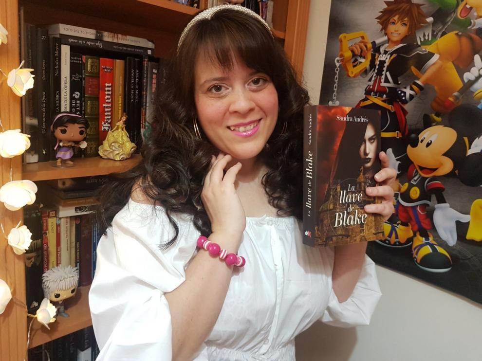 Sandra Andrés Belenguer publica 'La llave de Blake'.