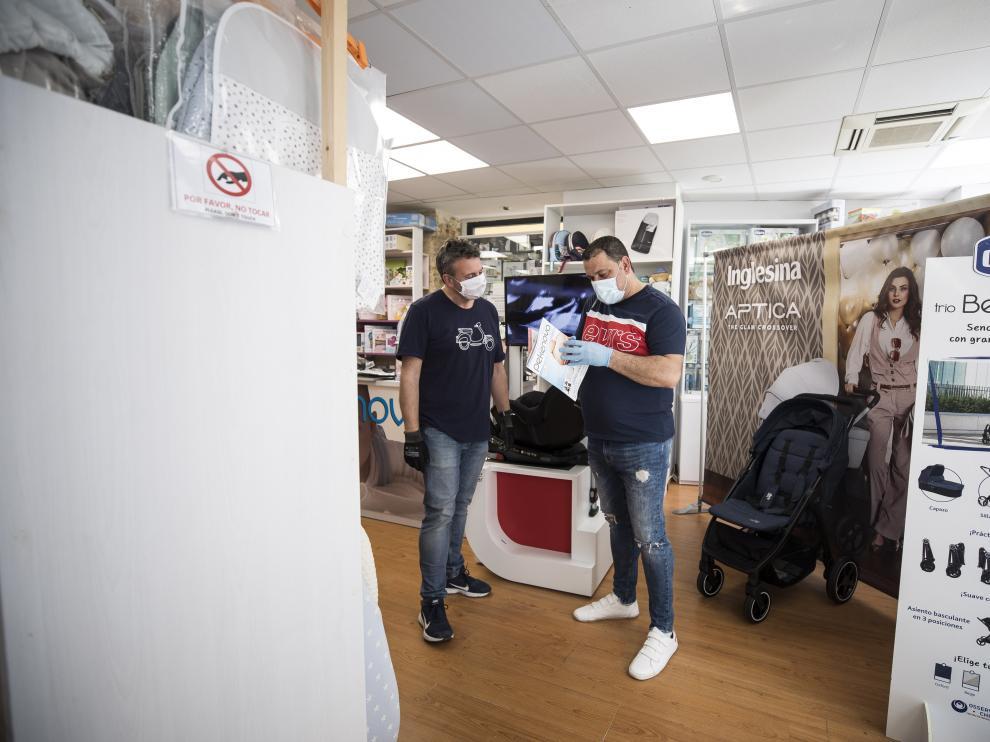 Apertura de comercios en Zaragoza, tienda Pekenova