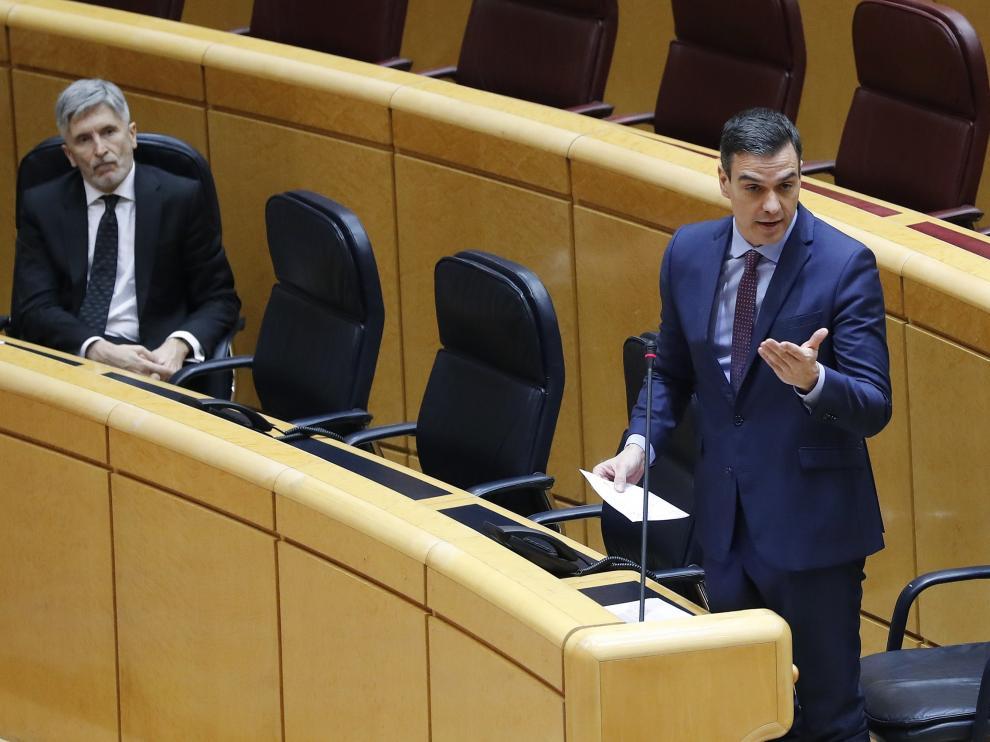 Sánchez en el Senado