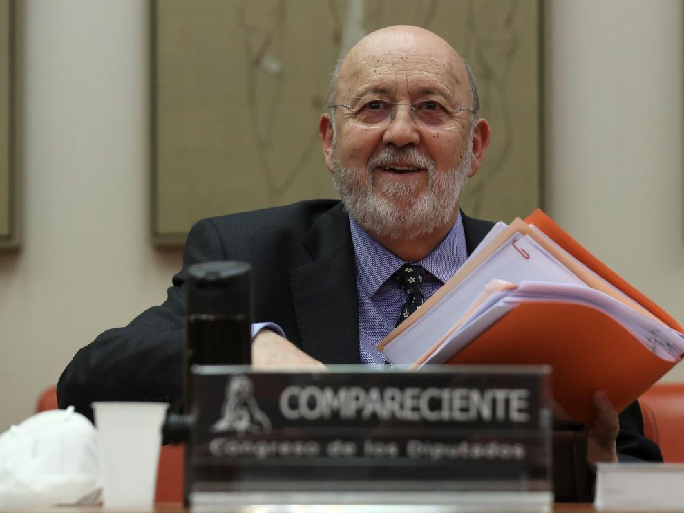 El presidente de del Centro de Investigaciones Sociológicas (CIS), José Félix Tezanos