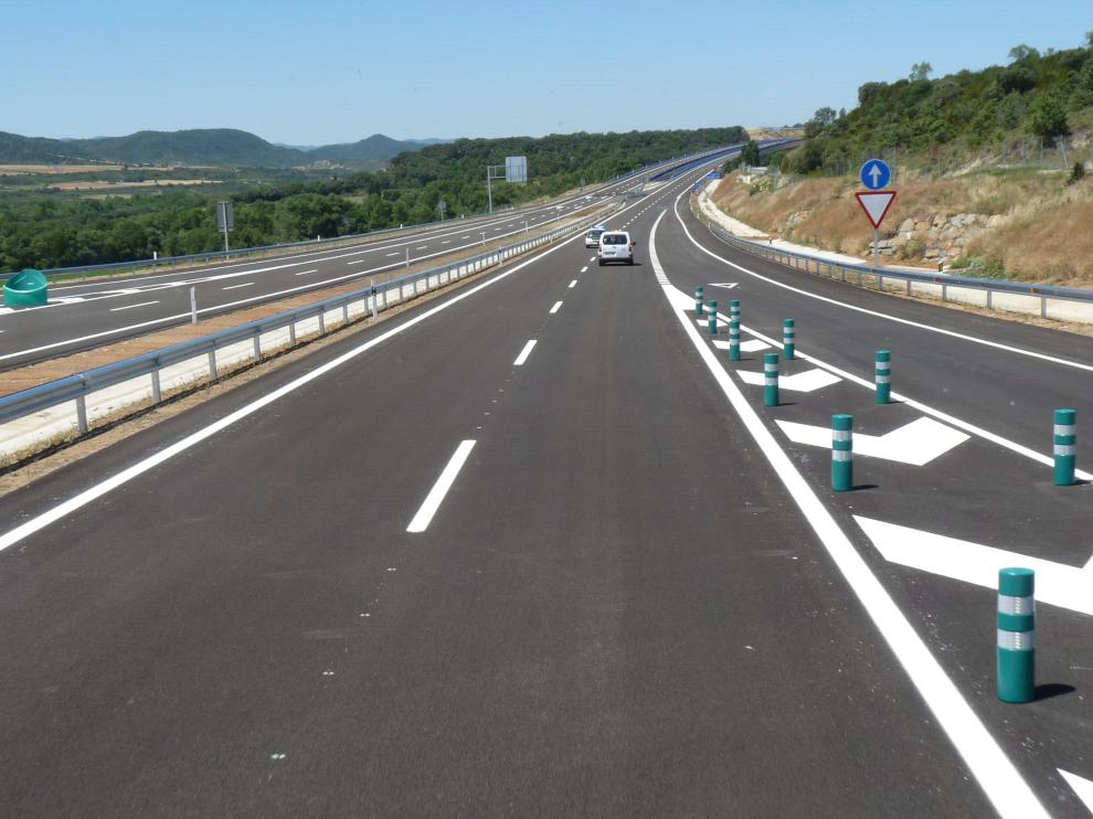 fotos ministro fomento inaugura tramo A-21 Jaca Oeste-Santa Cilia/Laura Zamborain/11-7-2019 [[[FOTOGRAFOS]]] [[[HA ARCHIVO]]]