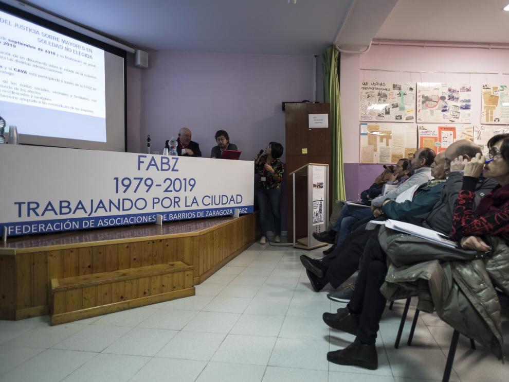 Asamblea FABZ 40 aniversario / 06-04-2019 / Foto: José Miguel Marco [[[FOTOGRAFOS]]] [[[HA ARCHIVO]]]