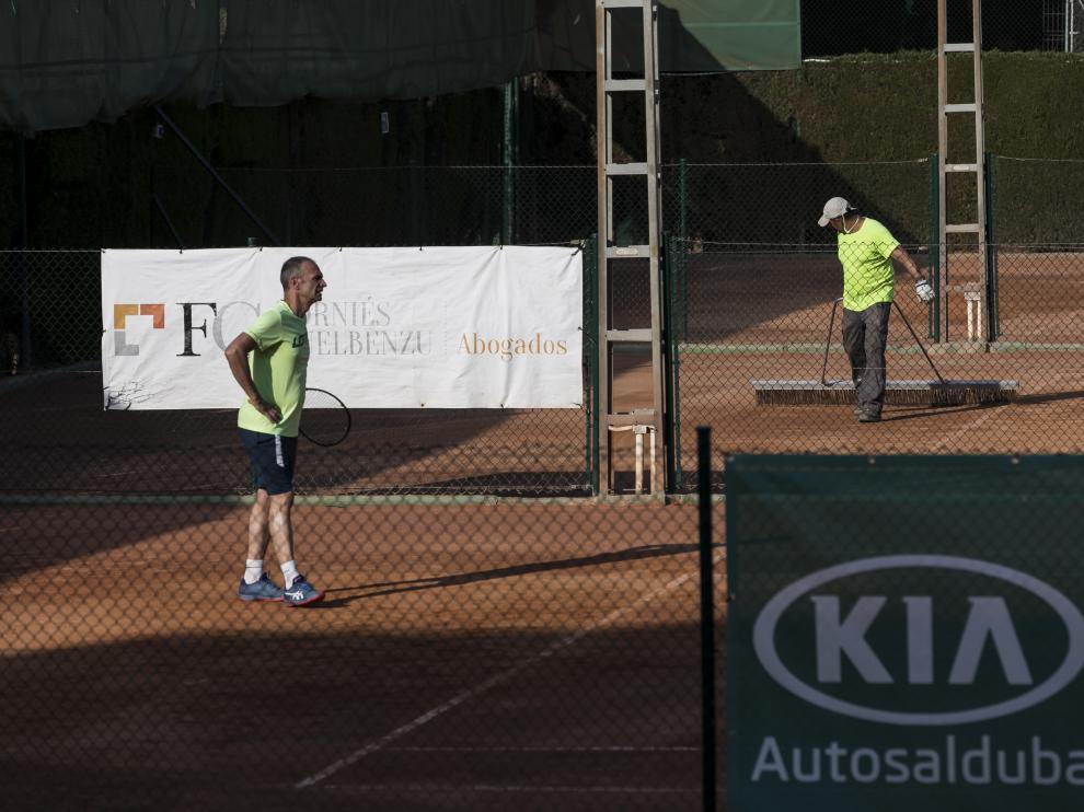 La actividad ha vuelto durante el fin de semana a las pistas de tenis del Stadium Casablanca.