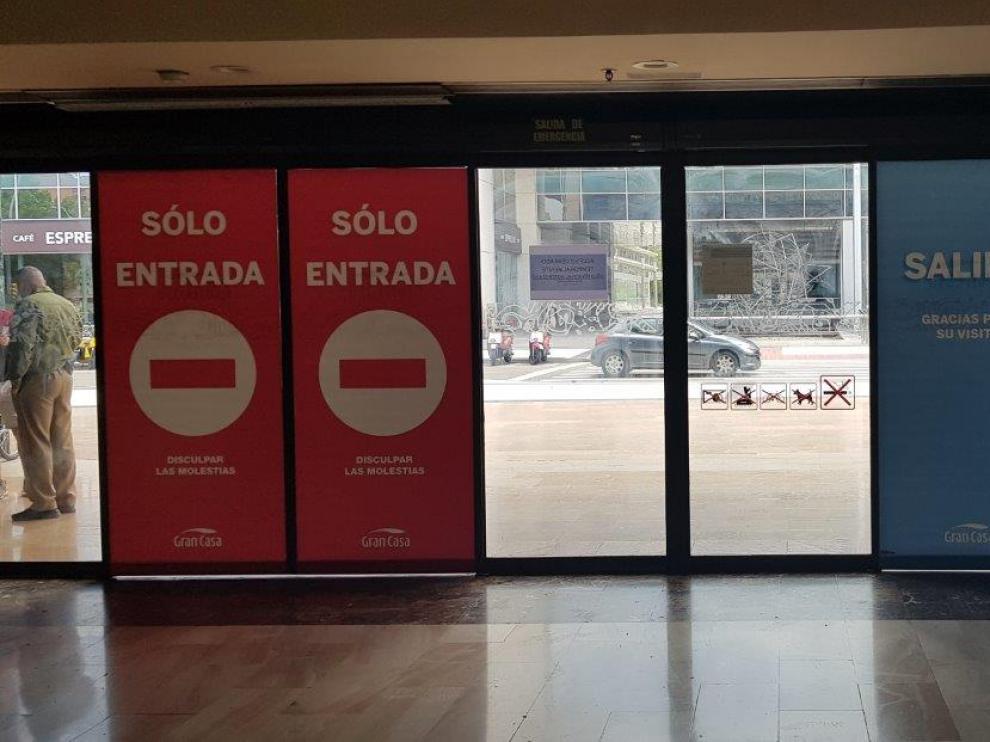Reapertura del Centro Comercial Gran Casa, en el Actur.