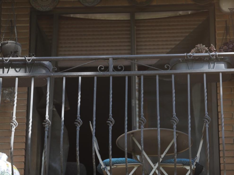 El incendio ocurrió en una vivienda de la calle de Francisco Izquierdo, en el barrio de Torrero.