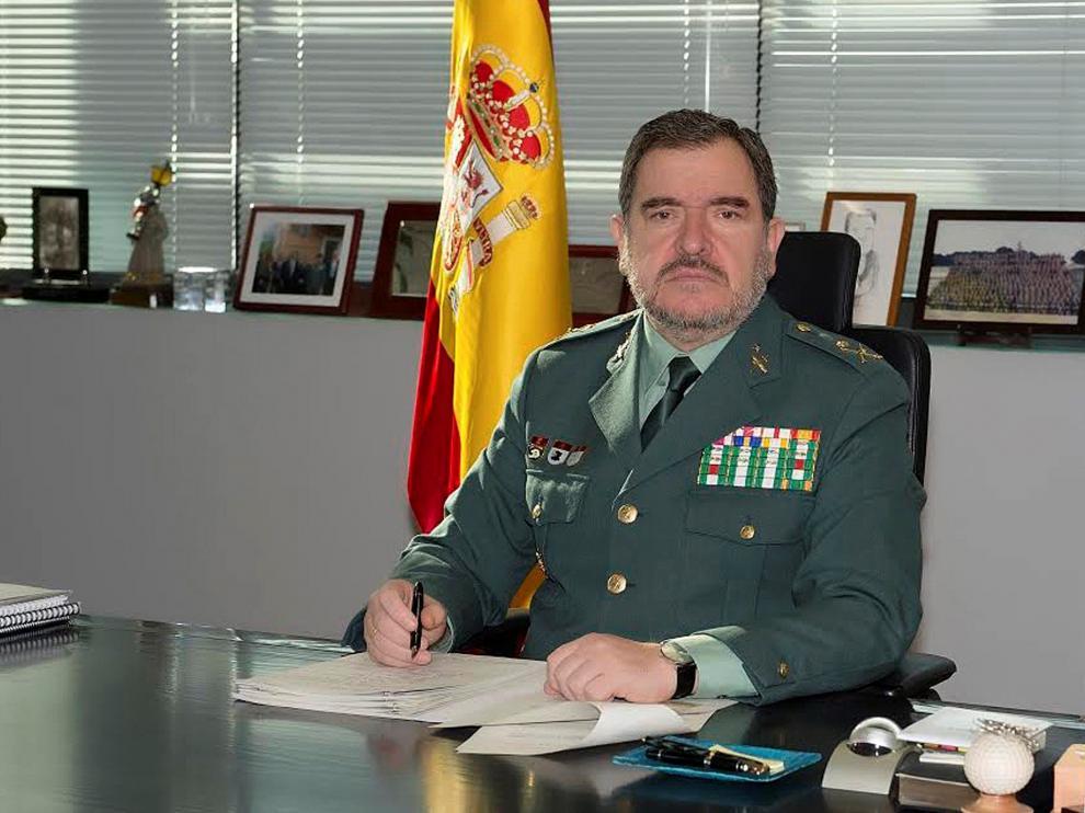 El general de Información, nuevo número 2 de la Guardia Civil