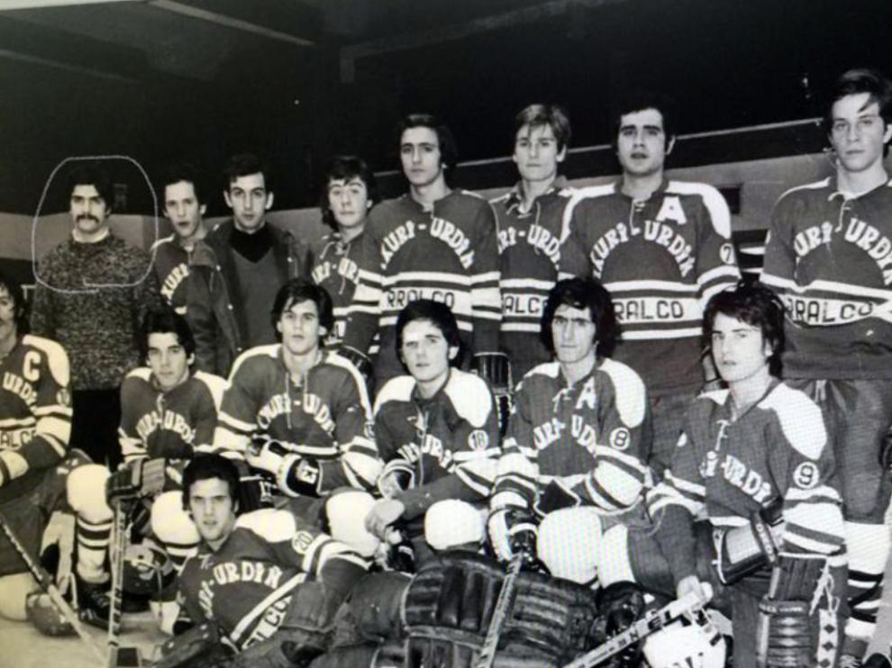 Fallece José Viyella, pionero del hockey hielo español
