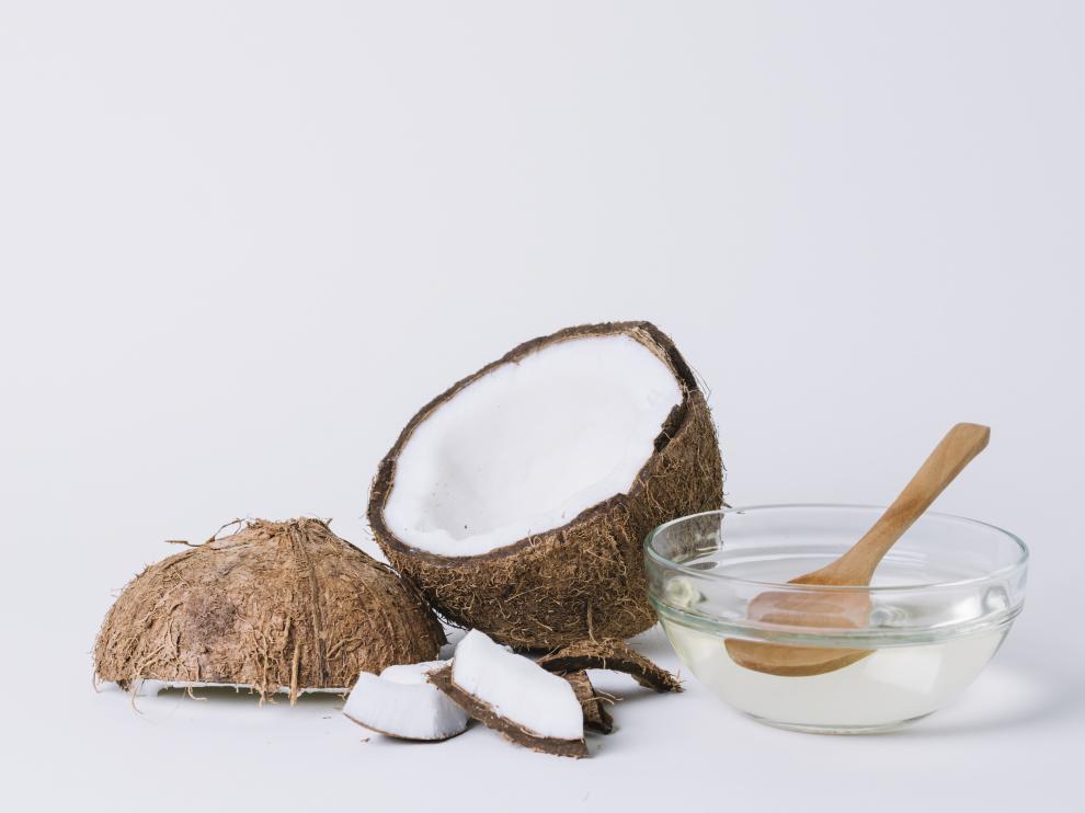 Estas grasas saturadas se obtienen del aceite de coco.