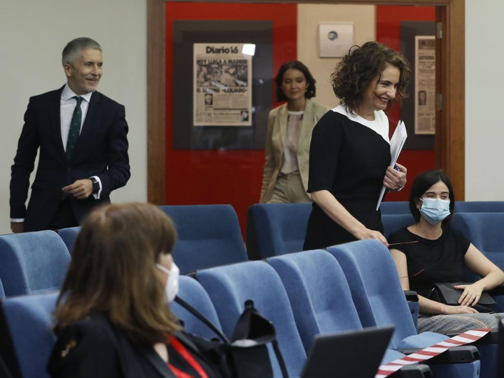 Rueda de prensa tras reunión del Consejo de Ministros