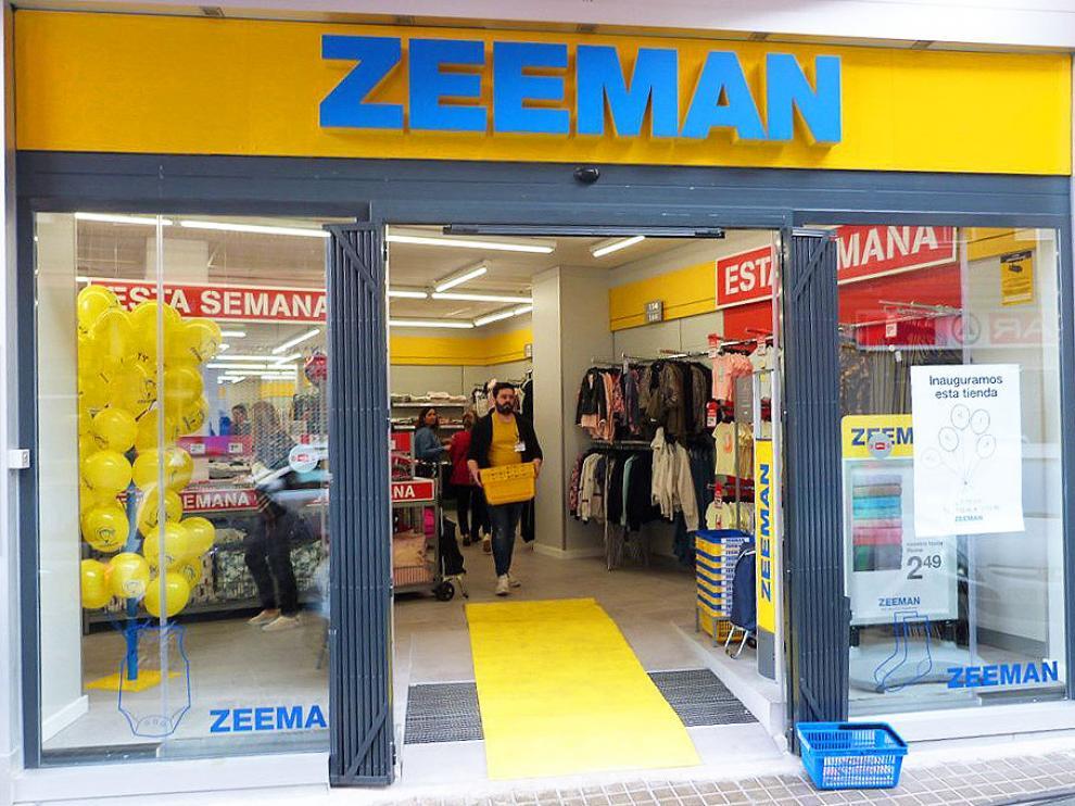 Una de las tiendas de la cadena Zeeman.