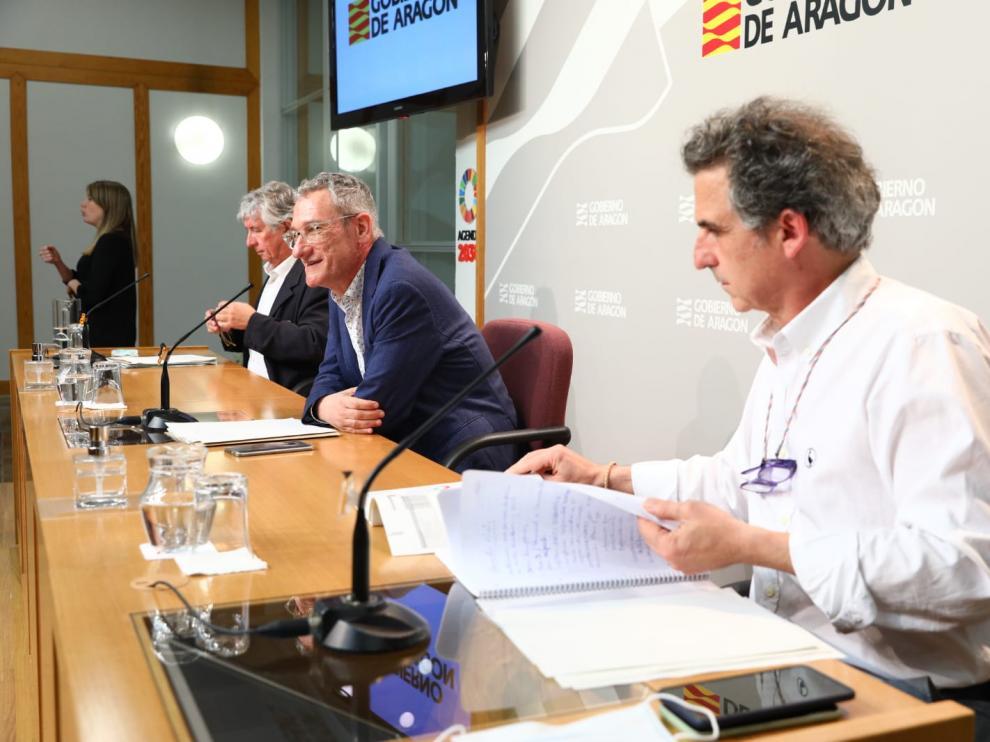 Ruega de prensa del director general de Salud Pública del Gobierno de Aragón, Francisco Javier Falo.