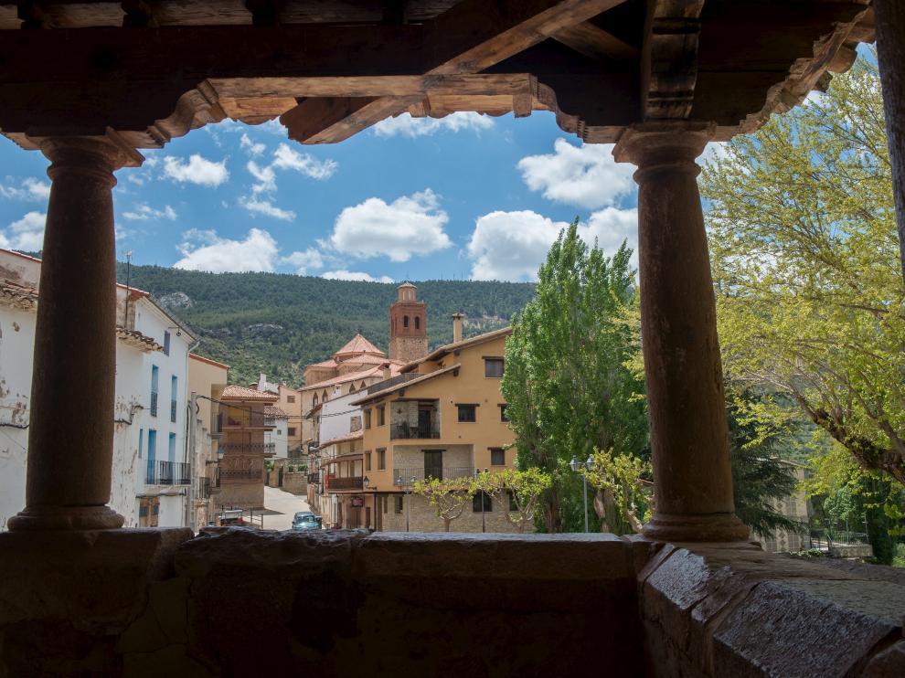 Arcos de las Salinas, una localidad turolense limítrofe con la provincia de Valencia.