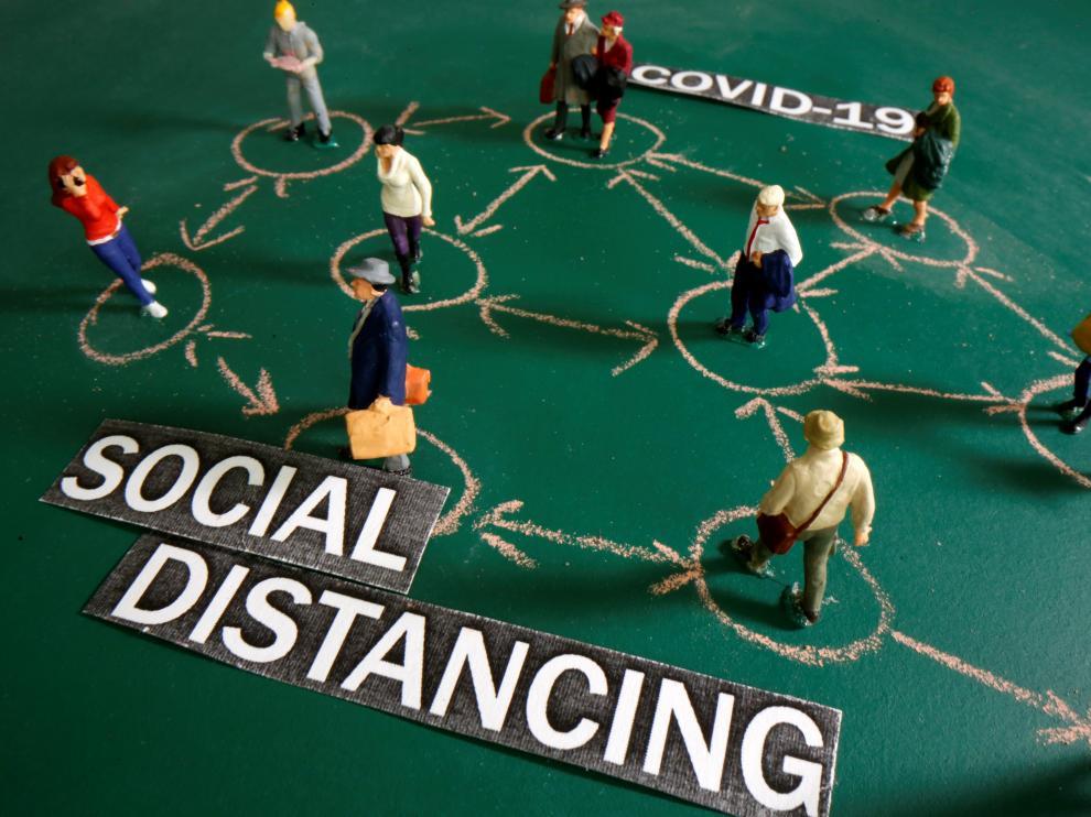 El distanciamiento social es lo más efectivo para evitar contagios.