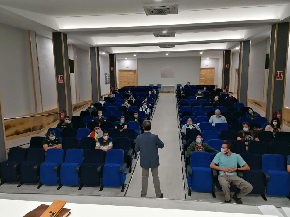 Los alumnos-trabajadores han recibido formación especial de nuevos protocolos de seguridad.