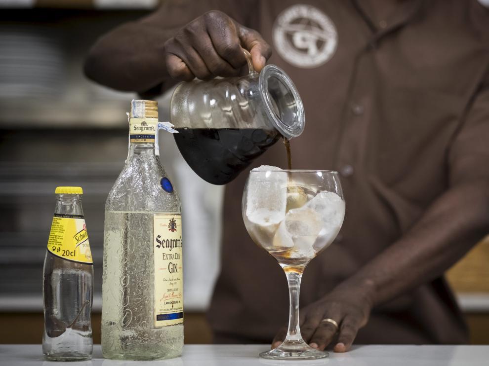 Un gin tonic de café.