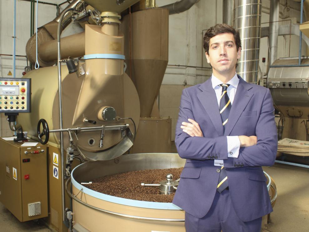 Álvaro Marco, adjunto de dirección de Cafés Orús.