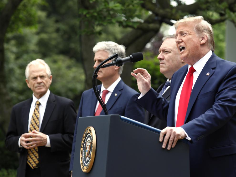 Donald Trump speaks on China - Washington