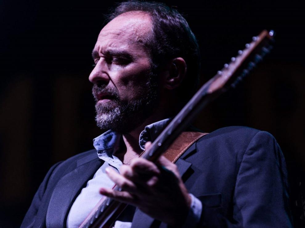 El guitarrista zaragozano Alonso Martínez