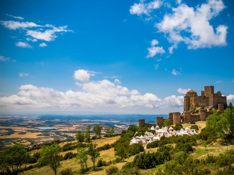 El castillo de Loarre, una de las maravillas de la provincia.