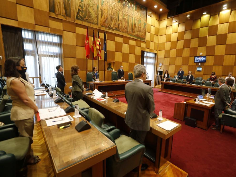 Pleno Ayuntamiento de Zaragoza.