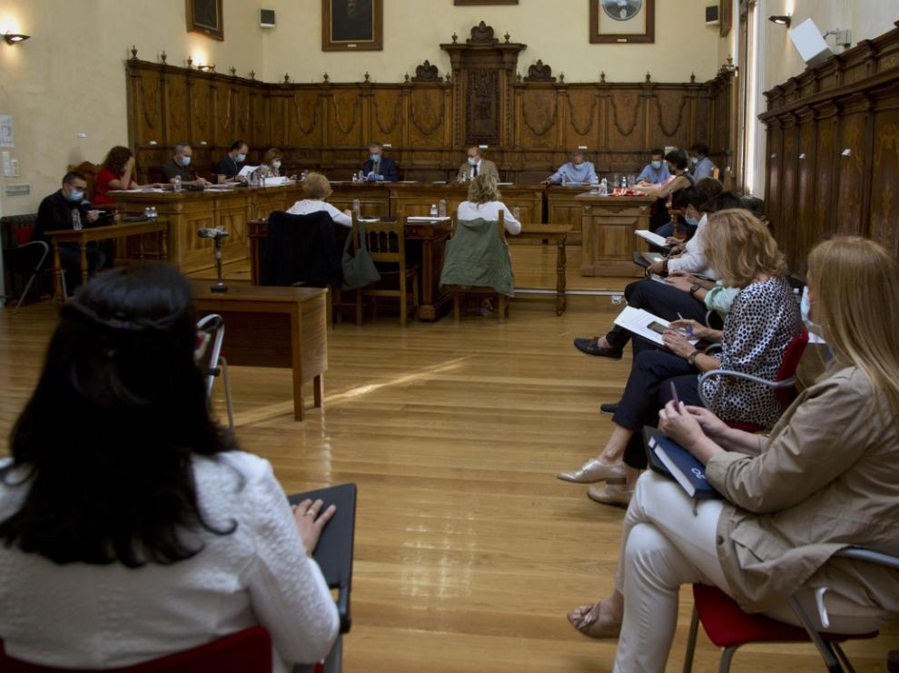Pleno del Ayuntamiento de Calatayud.