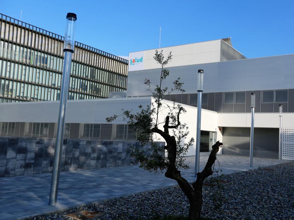 El centro de Salud Los Olivos está junto al Palacio de Justicia.