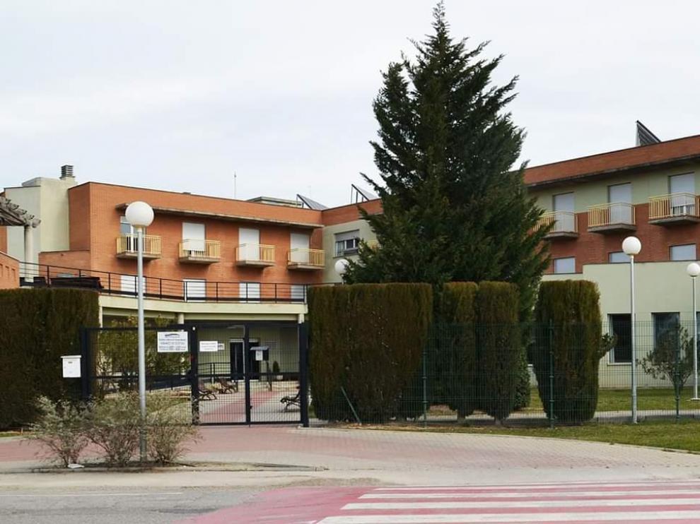 Residencia comarcal de Binéfar.